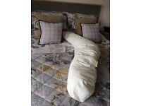 The big v pregnancy and nursing pillow