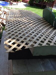 4 x 8 FOOT SHEET OF PRESSURE TREATED LATICE