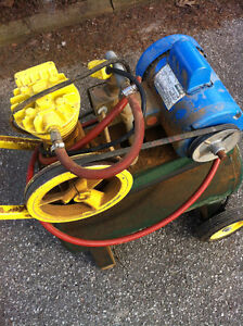 Air Compressor with attched one horse motor