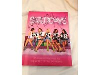 THE SATURDAYS Signed book