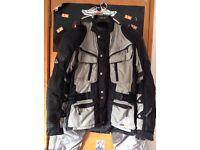 Hein gericke cruise gtx motorcycle jacket. Size EU50 UK40