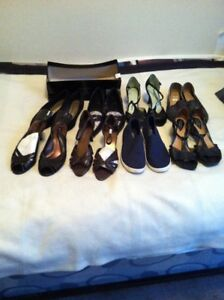 8 PAIRS NEW & ALMOST NEW SHOES AND SNEAKERS size 7.5