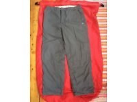 Craghoppers trousers 32 inch waist - fleece lined and very warm