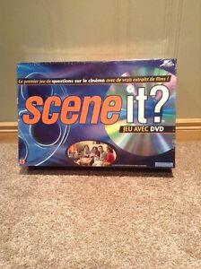 """Scene It"" DVD movie video trivia game -FRENCH version"