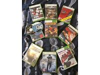 Xbox 360 + 11 games