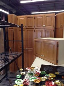 Large Oak Kitchen at the HFH ReStore