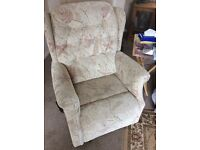 Brand new Rise and recline electric armchair