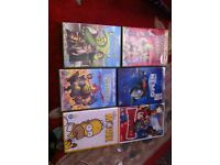 Children's DVDs £1 each