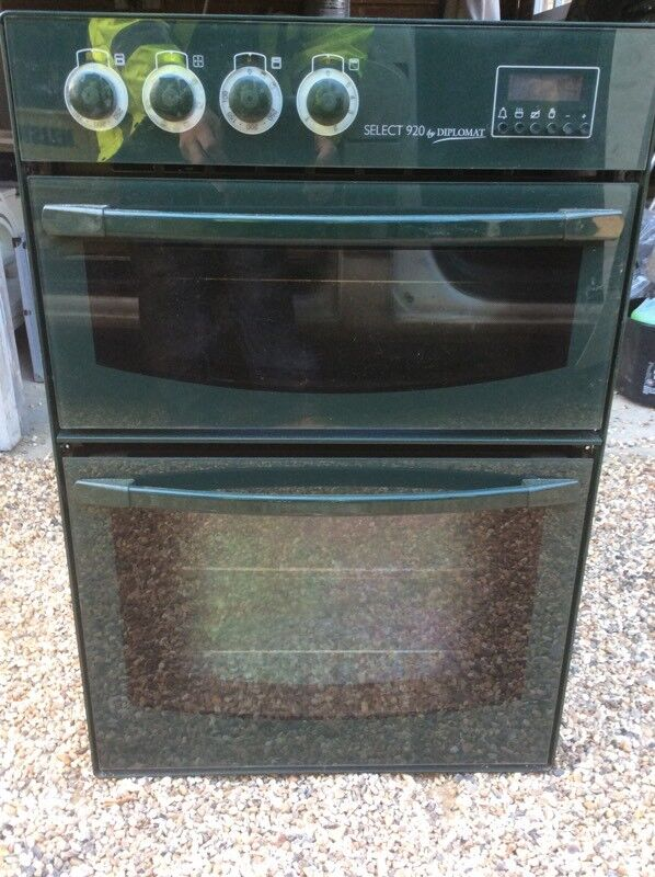Electric Double Oven Cooker Built In 900mm High To Fit Tower Unit