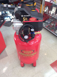 LARGE COMPRESSEUR KING CANADA 5 GALLONS