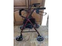 Mobility Walker with seat Rollator (BRAND NEW CAN DELIVER)
