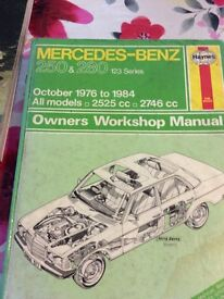Haynes workshop manual