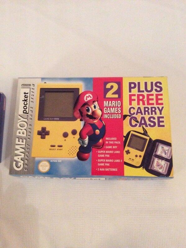Nintendo Gameboy Pocket