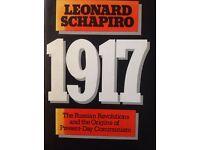 1917- The Russian Revolutions and thee origins of present- day Communism- Leonard Schapiro
