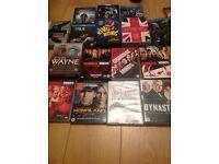 JOBLOT OF DVD BOXSETS
