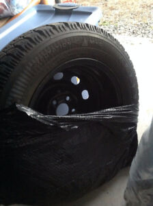 Dodge Neon winter tires with rims