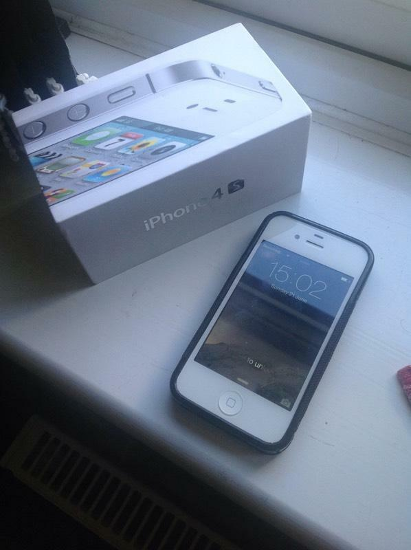 Iphone 4s 16gb Box White Iphone 4s 16gb