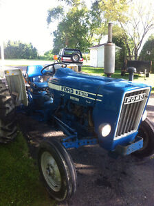 Antique tractors and parts for sale