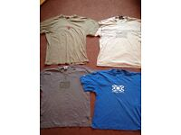 Bundle of men's tshirts ONFIRE and O'Neill Size XL