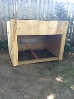 Miniature shelters! For dogs, bunnies, chickens, and more!!!!