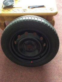Genuine spare wheel