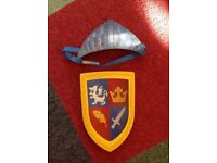FREE mike the knight dress up shield and hat