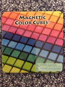Magnetic Color Cubes (Sealed)