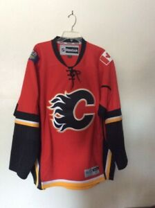 Calgary Flames Official Licensed Jersey, Men's XL, Never worn