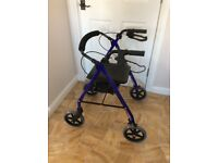 Mobility walker with seat, Rollator (Can Deliver)