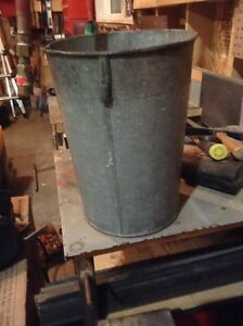 Metal sap bucket Kitchener / Waterloo Kitchener Area image 1