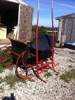 Pony sleigh , jog cart , shaves and harness