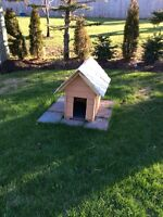 Doghouse  17x26x30 inch . 8x13 in. Door $60 Moncton New Brunswick Preview