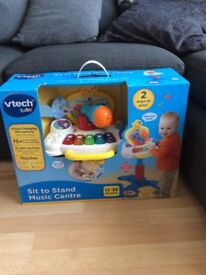 Vtech sit to stand music centre