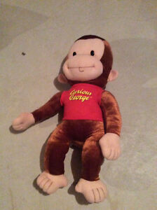 Curious George plus doll 26 nches tall