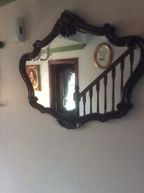 Vintage large mirror purchased over 30 years ago