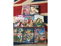 Assorted DVDs - Disney - comedy- action etc