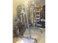 Maxxus weight gym smith machine same as bodymax/marcy