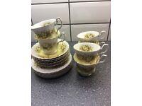 Royal Albert tea set.