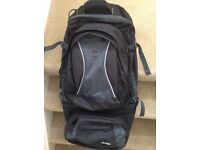 Backpack / Rucksack with detachable pack.