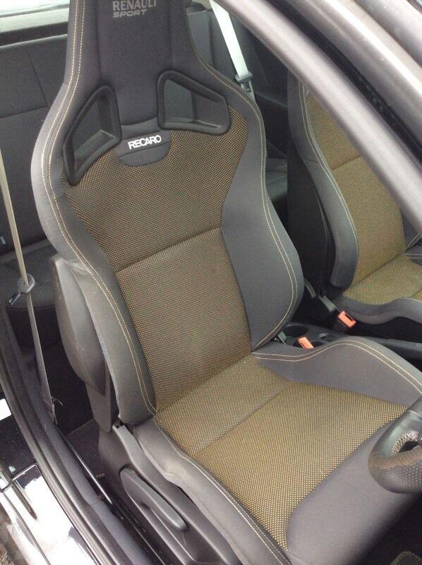 Renaultsport 197 200 Clio Megane Recaro Seats In