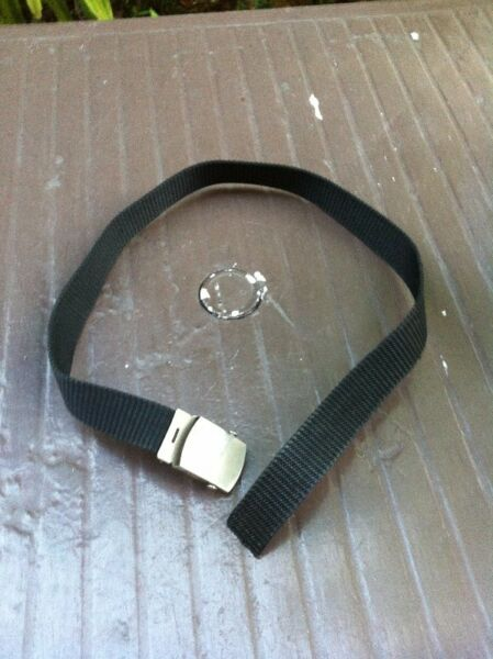 Black Belt for uniform group. In good condition.