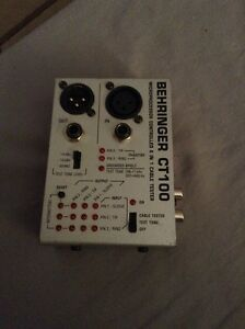 Behringer c100 6 in 1 cable tester