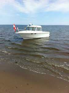 Used 2003 Pro Line Boat Co Pro fisher with cuddy