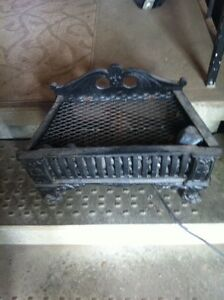 Old cast iron Electric fireplace
