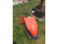 Flymo electric lawn mower and strimmer edger