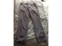 Calvin Klein golf trousers 34 waist reg