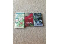3 handy pocket size gardening books
