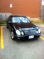 CHEAP !!!! 2003 Mercedes Benz e500 - REDUCED - Priced To Sell !!