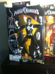 Power ranger legacy black ranger marvel legend action figure