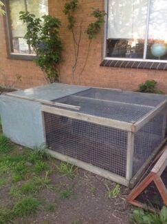 Large Rabbit hutch  Sunbury Hume Area Preview
